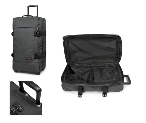 Eastpak Tranverz M 78 L black denim