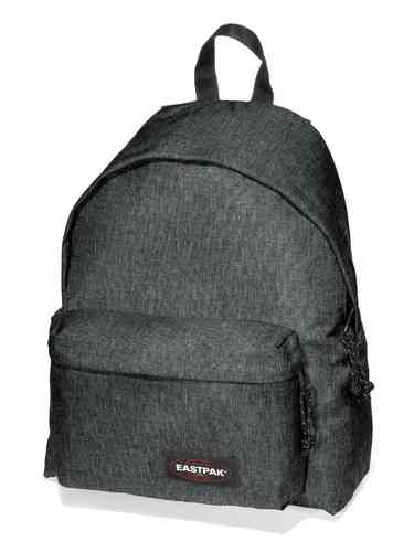 Eastpak Padded Pak'r black denim Rucksack